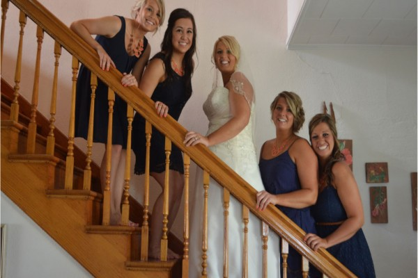 bridesmaids megs country celebration