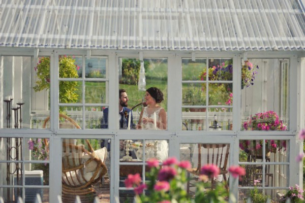 greenhouse couple megs country celebrations