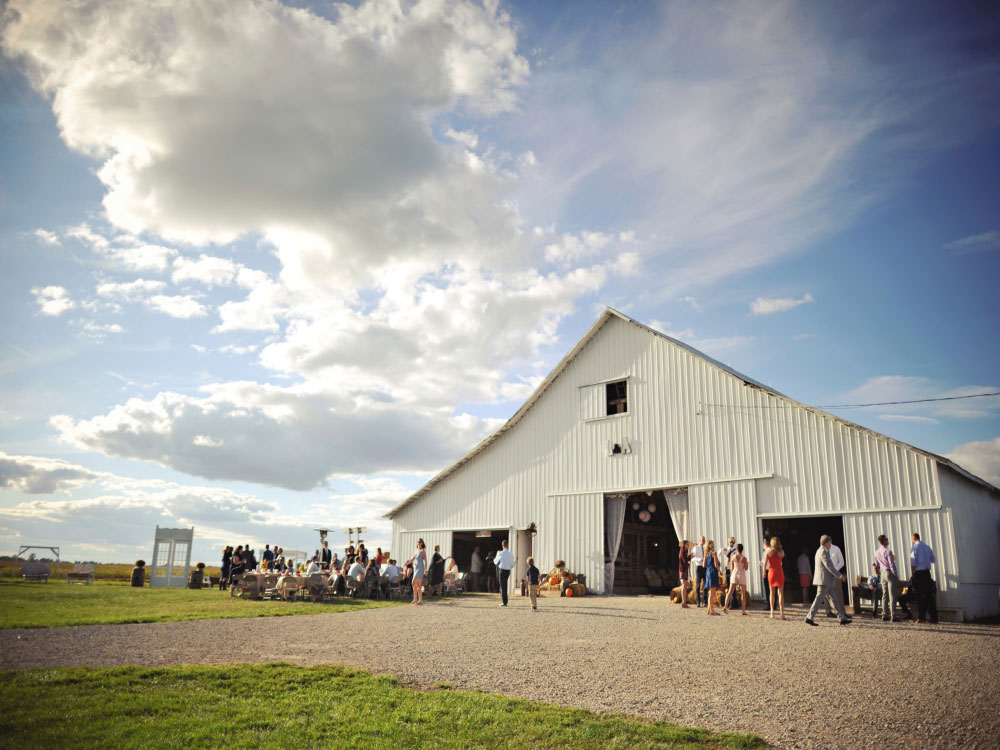barn blue sky megs country celebrations