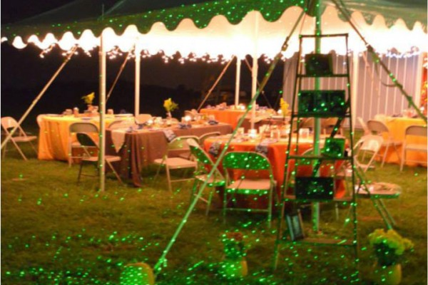 decorated tent megs country celebrations