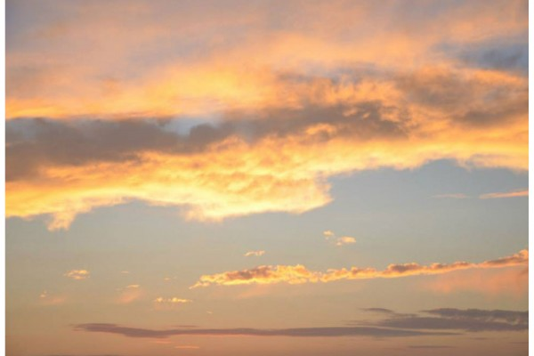 sunset sky megs country celebrations