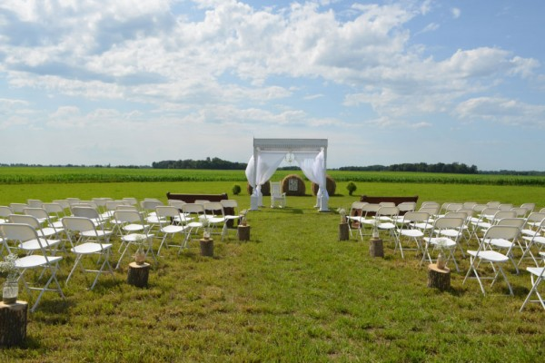 ceremony set up megs country celebrations